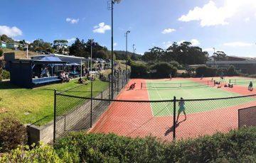Rosny Park Tennis Club in Tasmania. Picture: Tennis Tasmania