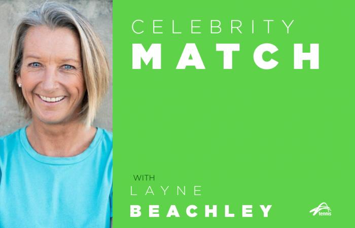 Celebrity Match with Layne Beachley