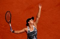 Ash Barty during her French Open title winning run last year. Picture: Getty Images