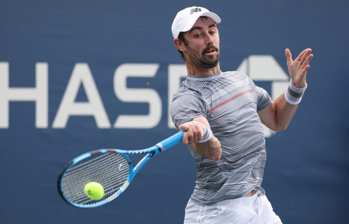 Jordan Thompson in action at the US Open. Picture: Getty Images