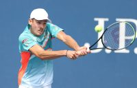 Alex de Minaur during his second round win at the US Open. Picture: Getty Images