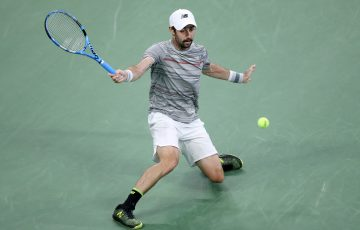 IN FORM: Jordan Thompson during his US Open run last week. Picture: Getty Images