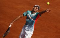Alex de Minaur competing on clay in Rome this week. Picture: Getty Images