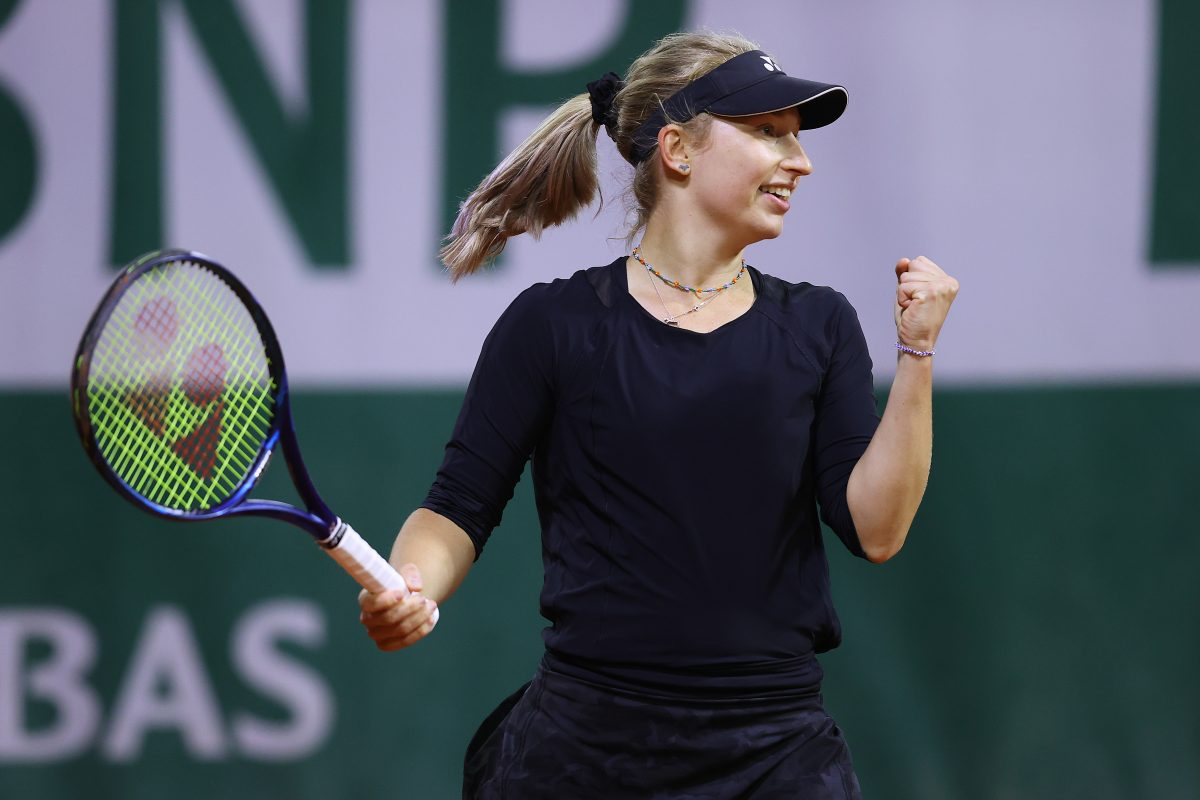 Gavrilova scores biggest Grand Slam win in three years