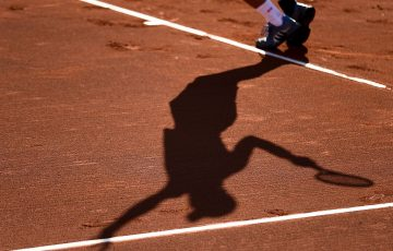 Clay court tennis; Getty Images