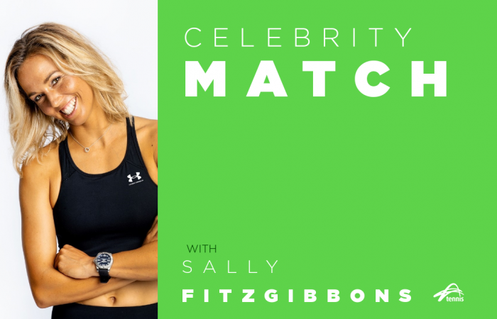 Celebrity Match with Sally Fitzgibbons