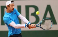 Jordan Thompson at Roland Garros. Picture: Getty Images