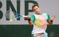 James Duckworth in action at Roland Garros. Picture: Getty Images