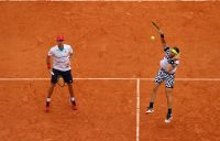 IN FORM: John Peers and Michael Venus are into their third semifinal of the season on clay. Picture: Getty Images