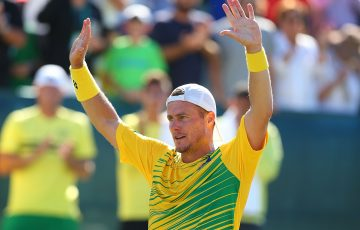ON TOP: Lleyton Hewitt has received the most votes in the International Tennis Hall of Fame fan vote. Picture: Getty Images