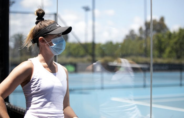 REFLECTING: Storm Sanders looks back on a challenging 2020. Picture: Tennis Australia