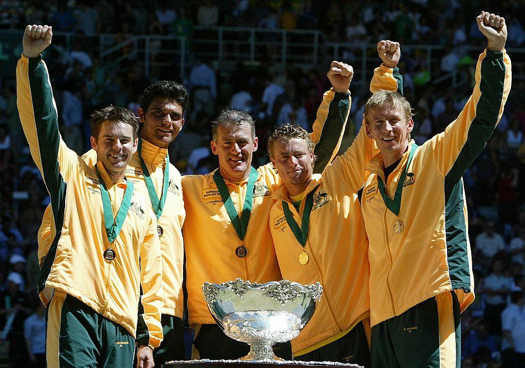 Flashback Friday: Australia's 2003 Davis Cup victory