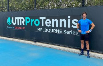 CHAMPION: Thanasi Kokkinakis has won back-to-back titles at the UTR Pro Tennis Series in Melbourne. Picture: Tennis Australia