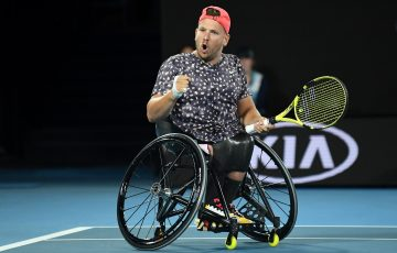 ON TOP: Dylan Alcott is the year-end No.1 in the quad division. Picture: Getty Images