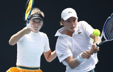 RISING STARS: Olivia Gadecki and Dane Sweeny will make their Grand Slam-level debuts in Australian Open 2021 qualifying. Picture: Getty Images