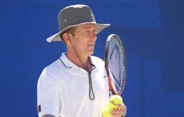 Australian tennis coach Bob Brett.