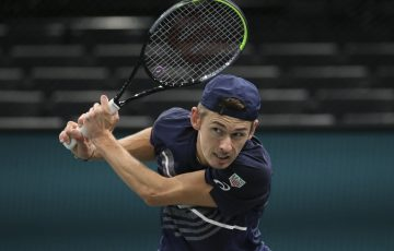 IN FORM: Australia's Alex de Minaur. Picture: Getty Images