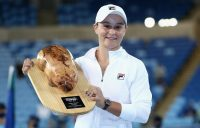 A HAPPY RETURN: Ash Barty is the Yarra Valley Classic singles champion. Picture: Tennis Australia