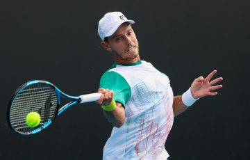 James Duckworth. Picture: Tennis Australia