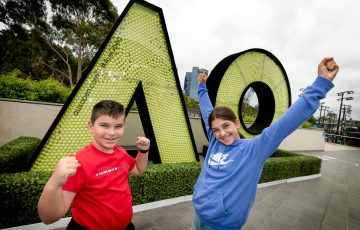 WELCOMED BACK: Fans can return to Australian Open 2021 today. Picture: Tennis Australia