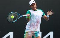 James Duckworth in action at Australian Open 2021. Picture: Tennis Australia