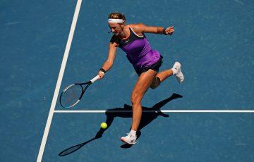 Former world No.1 Victoria Azarenka at Australian Open 2021. Picture: Tennis Australia