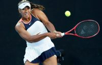 Australia's Destanee Aiava is competing at this week's Phillip Island Trophy. Picture: Tennis Australia