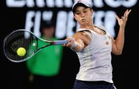 Ash Barty during her fourth-round win at Australian Open 2021. Picture: Tennis Australia