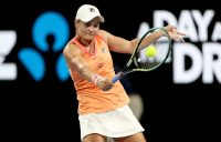Ash Barty in Adelaide in January. Picture: Tennis Australia