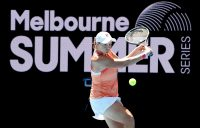 MOVING ON: Ash Barty during her third-round win at Melbourne Park today. Picture: Tennis Australia