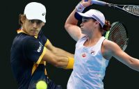 Alex de Minaur and Ash Barty lead the Aussie charge on day six at Australian Open 2021. Picture: Tennis Australia