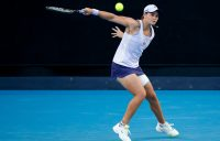Ash Barty competes in the third round of Australian Open 2021; Getty Images