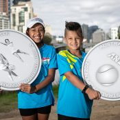 Judy Teggart Dalton and Kerry Melville Reid feature on the ANZ Commemorative Coin that will feature at AO 2021.