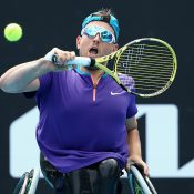 Dylan Alcott at Australian Open 2021
