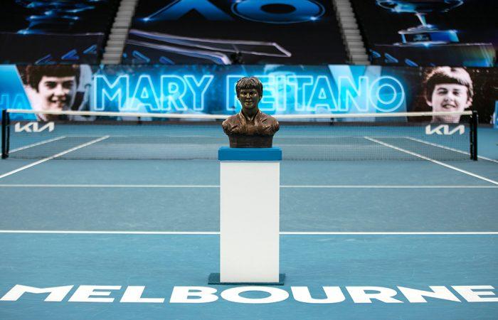 Mary Carter Reitano joins the Australian Tennis Hall of Fame.