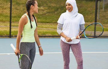 Tennis, a sport for everyone, can be enjoyed in many different ways.