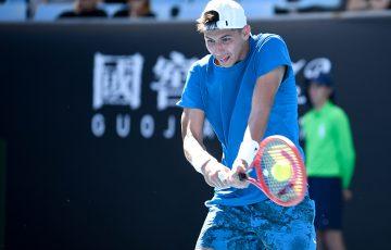 Alexei Popyrin at Australian Open 2021