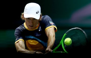 Alex de Minaur in Rotterdam; Getty Images