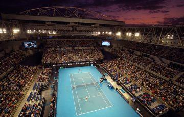 Australian Open 2021 general view