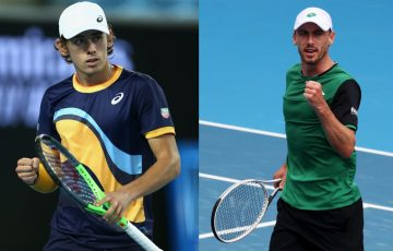 Alex De Minaur and John Millman