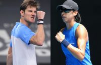 Matthew Ebden and Astra Sharma. Pictures: Corinne Dubreuil Open 13 Provence and Tennis Australia