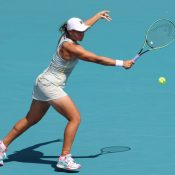 Ash Barty at the Miami Open in Florida, USA: Getty Images