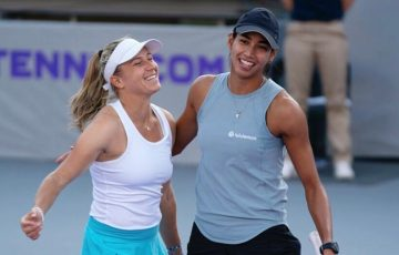 Aussie title winners Ellen Perez and Astra Sharma. Picture: Instagram