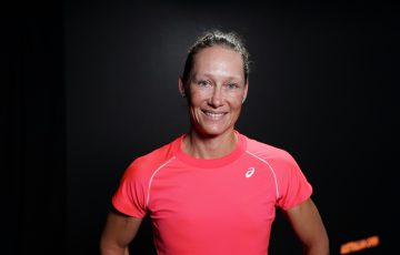 Sam Stosur at Australian Open 2021. Picture: Tennis Australia