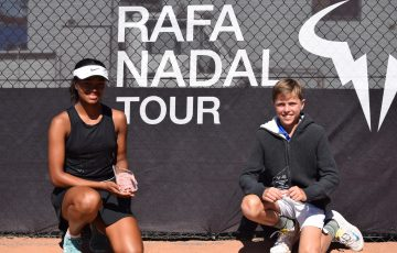 The Rafa Nadal Tour began in Canberra earlier this month.