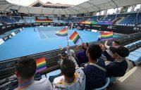 Glam Slam action during Australian Open 2021. Picture: Tennis Australia