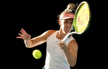 IN FORM: Storm Sanders is at a new career-high singles ranking. Picture: Tennis Australia