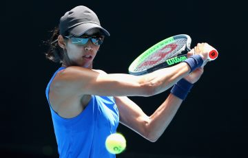 Astra Sharma. Picture: Tennis Australia