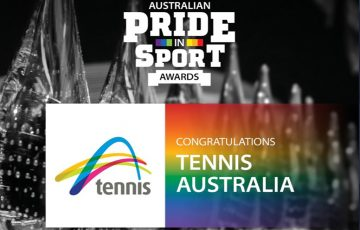 Australian Pride in Sport Awards.