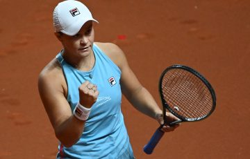 Ash Barty in Stuttgart; Getty Images